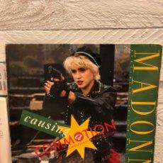 """Discos de vinilo: MADONNA CAUSING A COMMOTION 12"""" ESPAÑA PROMO ARIOLA. Lote 236249825"""