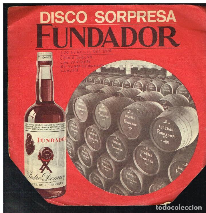 LOS GEMELOS DEL SUR - CUMBIA MORENA / VENTANAS + 2 - EP 1969 - D.S. FUNDADOR 10165 (Música - Discos de Vinilo - EPs - Grupos y Solistas de latinoamérica)