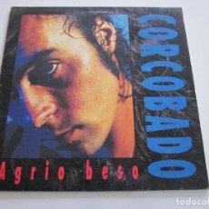 Discos de vinilo: JAVIER CORCOBADO - AGRIO BESO (LP, ALBUM). Lote 236255450