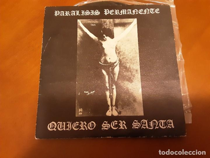 PARALISIS PERMANENTE QUIERO SER SANTA (Música - Discos - LP Vinilo - Grupos Españoles de los 70 y 80)
