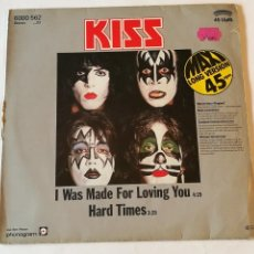 Dischi in vinile: KISS - I WAS MADE FOR LOVING YOU - 1979. Lote 236269020