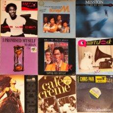 Disques de vinyle: LOTE 20 MAXIS 80'S & 90'S. Lote 236270805