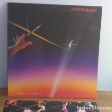Discos de vinilo: SUPERTRAMP - FAMOUS LAST WORDS - LP - 1982. Lote 236276610