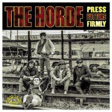 Discos de vinilo: THE HORDE – PRESS BUTTONS FIRMLY BREAK 032/2 ED. LIMITADA 2015 LP PRECINTADO / SEALED GARAGE ROCK. Lote 236298590