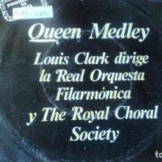 Discos de vinilo: SINGLE (VINILO9-PROMOCION- DE LA REAL ORQUESTA FILARMONICA Y THE ROYAL CHORAL SOCIETY. Lote 236299465
