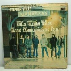 Discos de vinil: STEPHEN STILLS, MANASSAS (2LP ATLANTIC 1972, GATEFOLD) BOCANA SUPERIOR. Lote 236299725