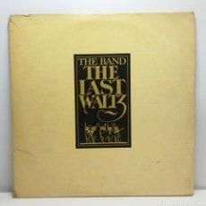 Discos de vinilo: THE BAND, THE LAST WALTZ (3LP WARNER 1978, ED.LTD.NUM. 3225,NO GATEFOLD, BOOKLET). Lote 236302040