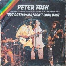 Discos de vinilo: SINGLE PETER TOSH W. MICK JAGGER. Lote 236304930