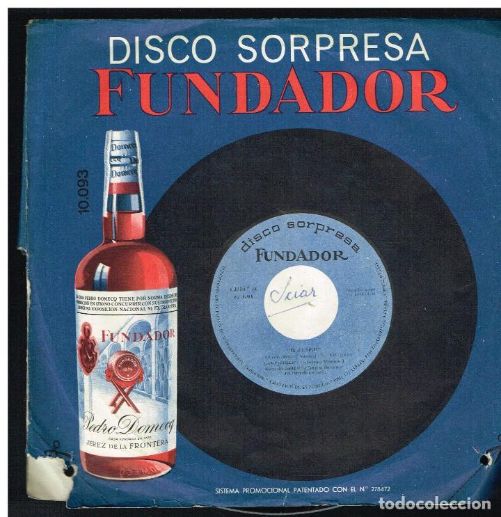 JUAN FRED - MUSICA DE ACORDEON - EP 1966 - D.S. FUNDADOR 10093 (Música - Discos de Vinilo - EPs - Flamenco, Canción española y Cuplé)
