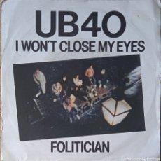 Discos de vinilo: SINGLE UB 40. Lote 236307305