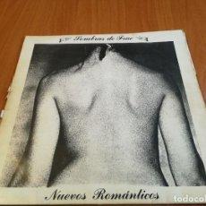 Discos de vinilo: SOMBRAS DE FRAC - NUEVOS ROMANTICOS LP EDITA CITOLA LA CORUÑA 1982-RARO GRUPO. MOVIDA GALICIA. Lote 236307390
