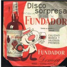 Discos de vinilo: GRAN ORQUESTA DE BAILE - TANGOS - EP 1965 - D.S. FUNDADOR 10082. Lote 236308665