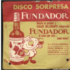 Discos de vinilo: PETER GONZZI / LOU BARRY / JOHNNIE SELL / BILLY SLATER - EP 1964 - D.S. FUNDADOR 10064. Lote 236309310