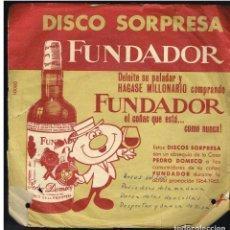 Discos de vinilo: MARTINCHU Y SU CONJUNTO - POLKA DEL BARRIL DE CERVEZA + 3 - EP 1964 - D.S. FUNDADOR 10060. Lote 236309850