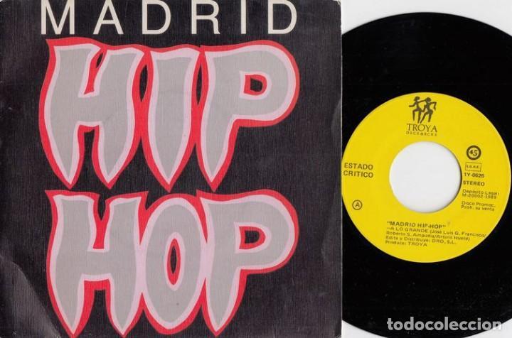 ESTADO CRITICO / QSC - MADRID HIP HOP - A LO GRANDE - SINGLE DE VINILO HIP HOP RAP # (Música - Discos - Singles Vinilo - Rap / Hip Hop)