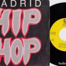 Discos de vinilo: ESTADO CRITICO / QSC - MADRID HIP HOP - A LO GRANDE - SINGLE DE VINILO HIP HOP RAP #. Lote 236312785