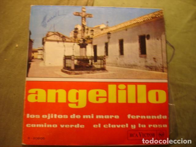 ANGELILLO LOS OJITOS DE MI MARE (Música - Discos de Vinilo - EPs - Flamenco, Canción española y Cuplé)