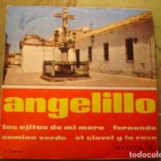 Discos de vinilo: ANGELILLO LOS OJITOS DE MI MARE. Lote 236313230