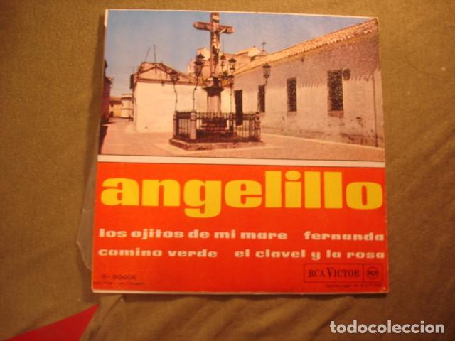 Discos de vinilo: Angelillo Los Ojitos De Mi Mare - Foto 2 - 236313230