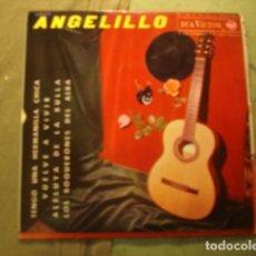 Discos de vinilo: ANGELILLO TENGO UNA HERMANILLA CHICA. Lote 236313345