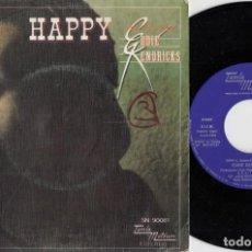 Discos de vinilo: EDDIE KENDRICKS - HAPPY - SINGLE DE VINILO EDICION ESPAÑOLA TAMLA MOTOWN #. Lote 236314525