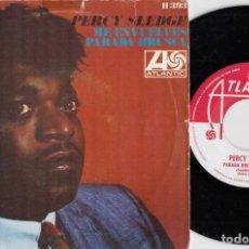 Discos de vinilo: PERCY SLEDGE - YOU'RE ALL AROUND ME - SINGLE DE VINILO EDICION ESPAÑOLA #. Lote 236314660