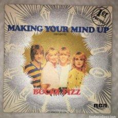 Discos de vinilo: SINGLE BUCKS FIZZ - MAKING YOUR MIND UP ( DECIDETE ) - RCA VICTOR PB-5339 - PEDIDOS MINIMO 7€. Lote 236328170