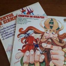 Discos de vinilo: 2 LPS CUENTOS DE SIEMPRE - VOL. 6, 8 - 1977.. Lote 236334740
