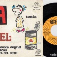 Discos de vinilo: LINA MORGAN BANDA SONORA ORIGINAL LA TONTA DEL BOTE - SINGLE DE VINILO #. Lote 236344485