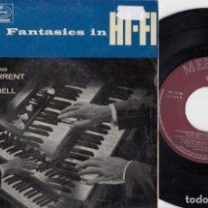 Discos de vinilo: SHAY TORRENT & RALPH BELL - ORGAN FANTASY IN HI FI - EP DE VINILO EDICION ESPAÑOLA #. Lote 236345790