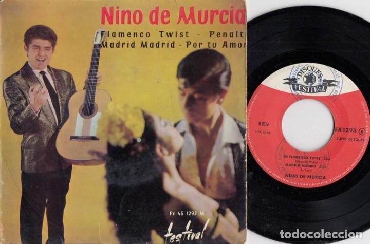 NINO DE MURCIA - EL NIÑO DE MURCIA - FLAMENCO TWIST - EP DE VINILO EDICION FRANCESA # (Música - Discos de Vinilo - EPs - Flamenco, Canción española y Cuplé)