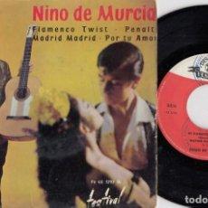 Discos de vinilo: NINO DE MURCIA - EL NIÑO DE MURCIA - FLAMENCO TWIST - EP DE VINILO EDICION FRANCESA #. Lote 236350410