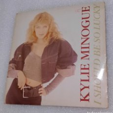 Discos de vinilo: KYLIE MINOGUE - I SHOULD BE SO LUCKY. Lote 236350965