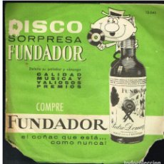 Discos de vinilo: DOMINGO ROJAS - LA LOLA / ROSA DE MADRID / PICHI / LAS TAQUIMECAS - EP 1963 - D.S. FUNDADOR 10043. Lote 236365235