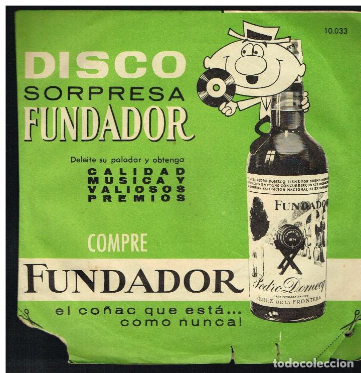 NUESTRA ZARZUELA - EP 1963 - D.S. FUNDADOR 10043 (Música - Discos de Vinilo - EPs - Pop - Rock Extranjero de los 50 y 60)