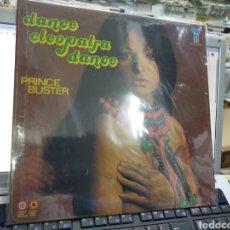 Discos de vinilo: PRINCE BUSTER LP DANCE CLEOPATRA DANCE REEDICIÓN PRECINTADO. Lote 254716040