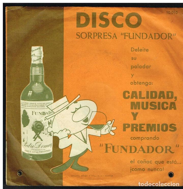 BILLY SLATER / NORMAN SANDY / COLE SHERIDAN / LOU BERRY - EP 1962 - D.S. FUNDADOR 10010 (Música - Discos de Vinilo - EPs - Pop - Rock Extranjero de los 50 y 60)