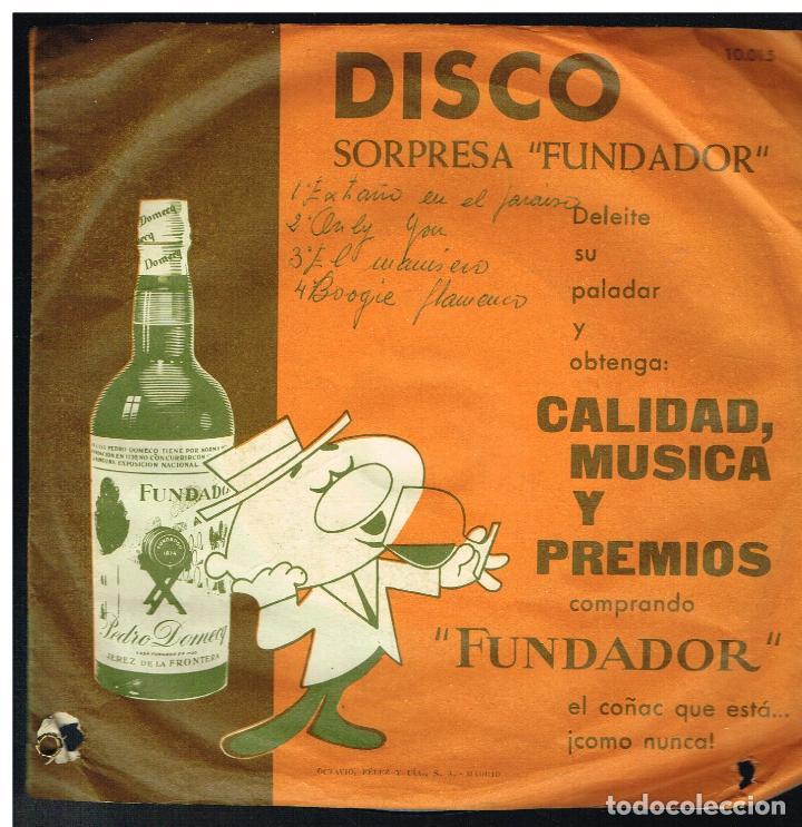 TONY ROGERS / HUGO GIL - MELODIAS INOLVIDABLES - EP 1962 - D.S. FUNDADOR 10015 (Música - Discos de Vinilo - EPs - Pop - Rock Extranjero de los 50 y 60)
