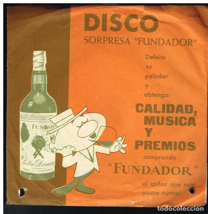 ORQUESTA A. MONTES - PASODOBLES - MELODIAS INOLVIDABLES - EP 1962 - D.S. FUNDADOR 10004 (Música - Discos de Vinilo - EPs - Pop - Rock Extranjero de los 50 y 60)