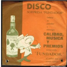 Discos de vinilo: ORQUESTA A. MONTES - PASODOBLES - MELODIAS INOLVIDABLES - EP 1962 - D.S. FUNDADOR 10004. Lote 236366885