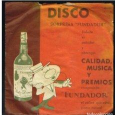 Discos de vinilo: COBLA MONTSENY - SARDANAS - EP 1962 - D.S. FUNDADOR 20023. Lote 236367460