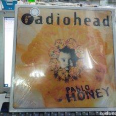 Discos de vinilo: RADIOHEAD LP PABLO HONEY 1993 PRECINTADO VINILO DE COLOR. Lote 236369005