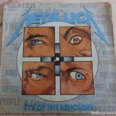 Disques de vinyle: METALLICA – EYE OF THE BEHOLDER - SINGLE USA 1988 SP. Lote 236374795