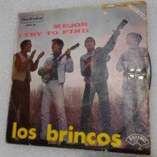 Discos de vinilo: LOS BRINCOS - MEJOR. Lote 236374945