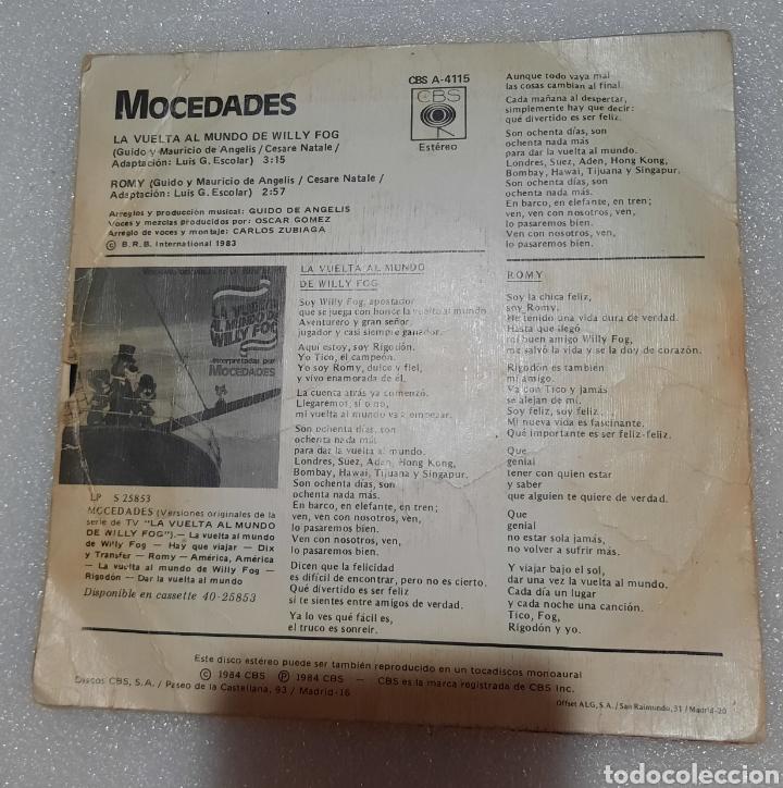 Discos de vinilo: La vuelta al mundo de Willy Fog. Mocedades - Foto 3 - 236378245