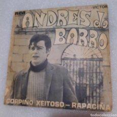 Discos de vinilo: ANDRES DO BARRO - CORPIÑO XEITOSO. Lote 236378865