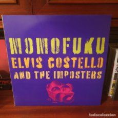 Disques de vinyle: ELVIS COSTELLO AND THE IMPOSTERS / MOMOFUKU / GATEFOLD / DOBLE ALBUM / LOST HIGHWAY 2008. Lote 236379285