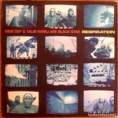 Discos de vinilo: MOS DEF & TALIB KWELI ARE BLACK STAR : RESPIRATION [USA 1999] 12'. Lote 236393810