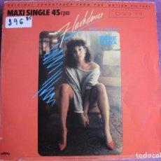Discos de vinilo: MAXI - FLASHDANCE (WHAT A FEELING-IRENE CARA) (SPAIN, CASABLANCA 1983). Lote 236396910