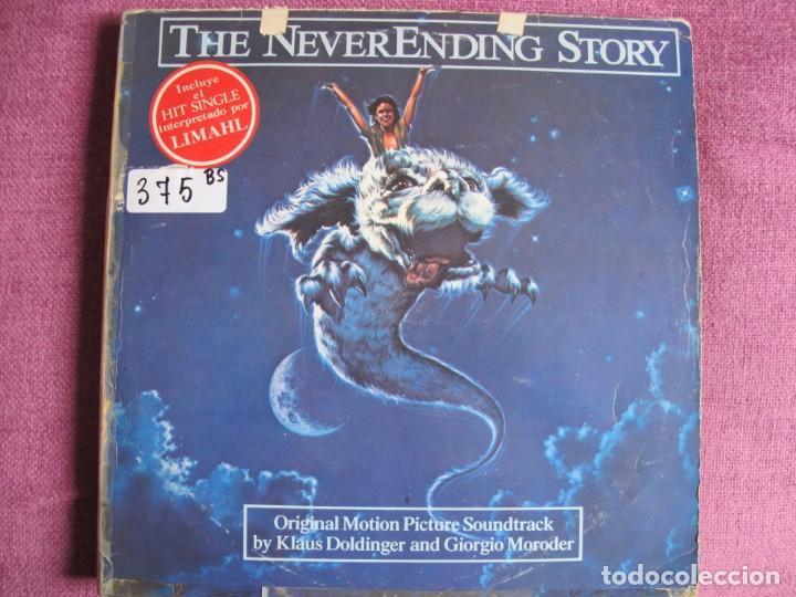 LP - THE NEVERENDING STORY - MUSIC BY KLAUS DOLDINGER AND GIORGIO MORODER (Música - Discos - LP Vinilo - Bandas Sonoras y Música de Actores )